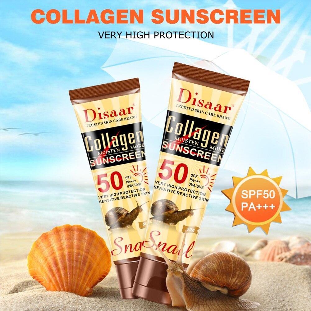 Disaar Sunscreen Ultraviolet Ray Protection Face Body Sunscreen Lotion SPF50PA++ Skin Protection Facial Sunscreen Sun protection
