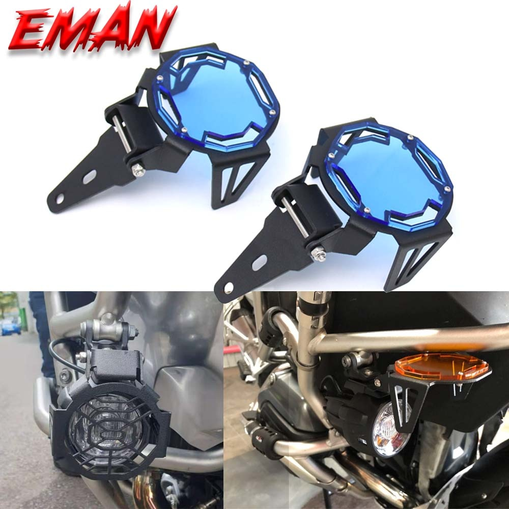 For BMW R1200 GSA R1250GS ADV LC F750GS G310GS S1000XR F850GS Motorcycle Flipable R1200GS Fog light Protector Guard Lamp Cove