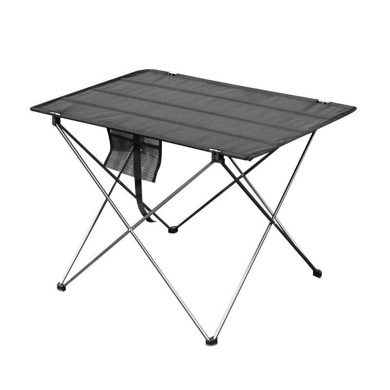 Портативный складной стол для кемпинга, уличная мебель, компьютерные столы для кровати, столы для пикника 6061, ульсветильник легкий складной...