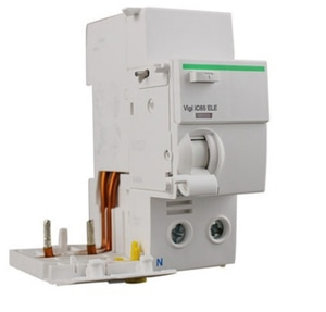 2P Double pole C16A/25A/40A/50A 30MA Type AC 230 VAC 50Hz Leakage Residual current circuit breaker with over current protection