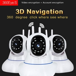 Hiseeu 1080p 1536p câmera ip sem fio câmera de segurança em casa câmera de vigilância wifi visão noturna cctv câmera 2mp monitor do bebê