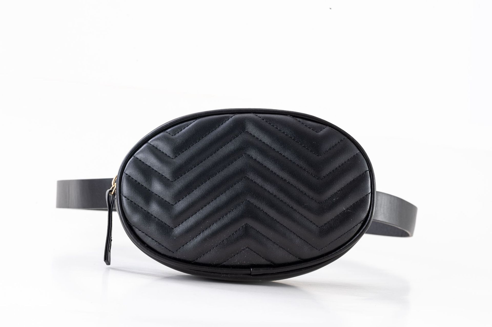 Women Waist Bags Waterproof PU Leather Belt Bag Fanny Pack Crossbody Bumbag for Party, Travel, Hikin