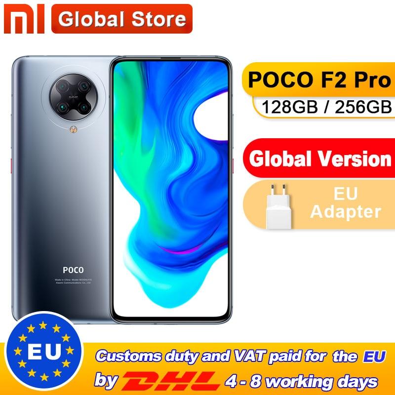 "Global Version Xiaomi POCO F2 Pro 128GB / 256GB Qualcomm Snapdragon 865 64MP Quad Rear Camera Smartphone 6.67"" 20MP Pop-up Front"