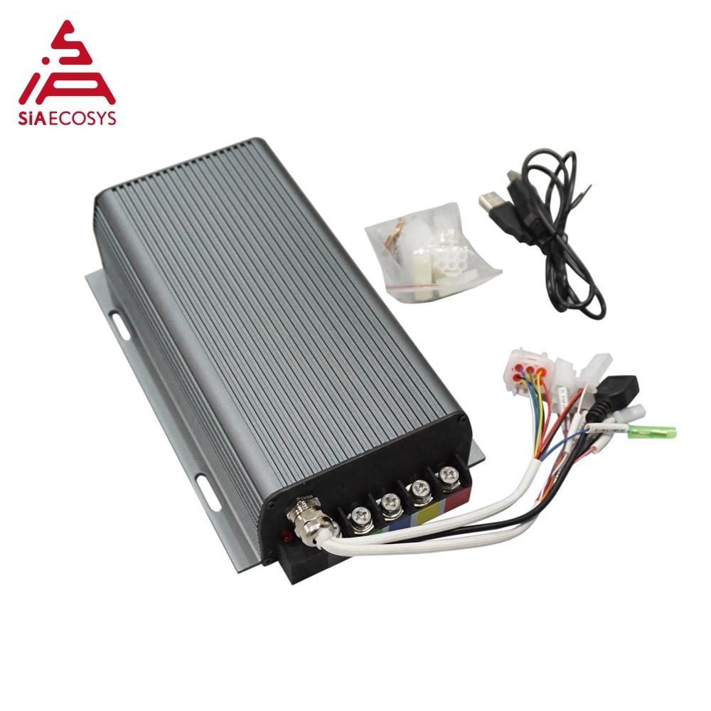 Sabvoton-وحدة تحكم في السرعة 150A SVMC72150 V1 لـ QS 3000w ، محرك بدون فرش ، محول بلوتوث غير متضمن