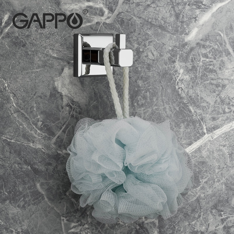 GAPPO SUS304 túnica gancho de pared perchero toalla gancho para cuarto de baño de acero inoxidable gancho inoxidable percha para cocina de Hardware