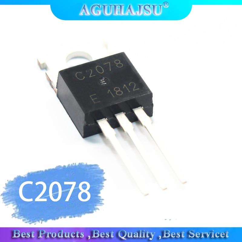 5 pçs/lote NPN transistor, 27 amplificador de RF MHz 2SC2078 C2078 PARA-220 original Do Produto