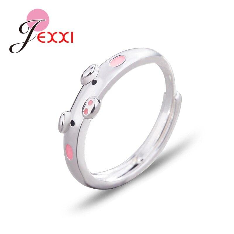 Новое-поступление-925-милые-розовые-кольца-в-виде-свиньи-популярные-копилки-с-животным-на-удачу-Открытое-кольцо-для-женщин-и-девочек-ювелир