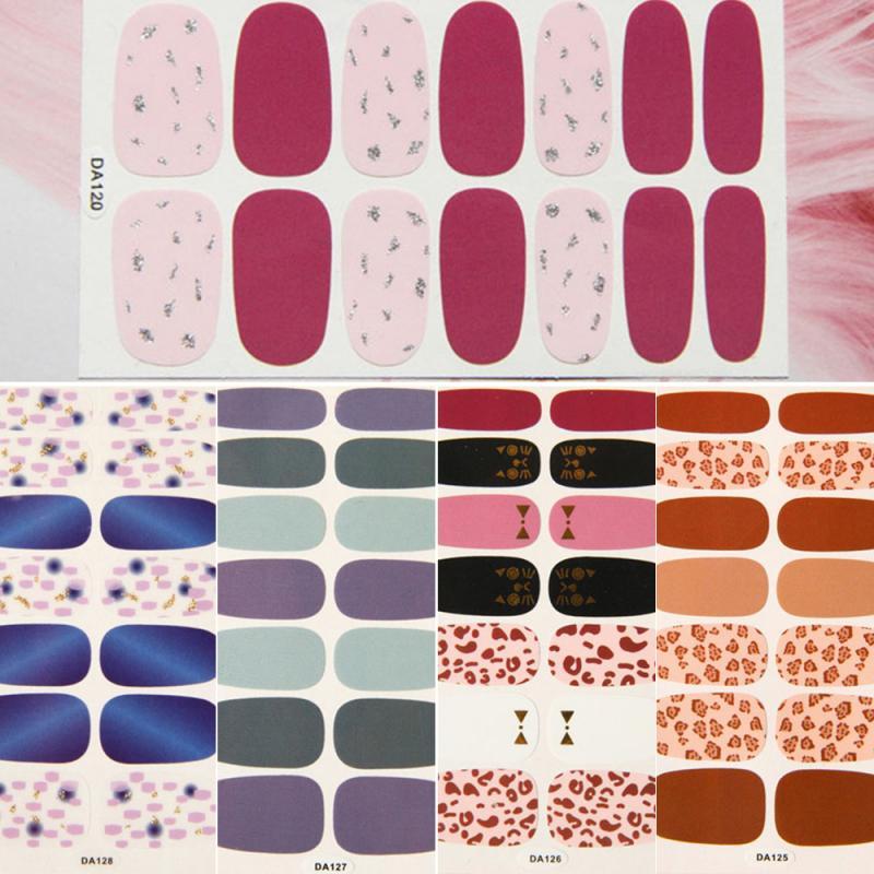 14 colours Nail art star transfer paper hot sale Manicure sticker nail polish adhesive sticker DIY Decorative Manicure Tool