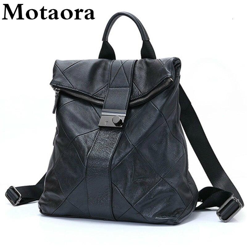 Leather Anti Theft Women Backpack Outdoor Travel Bag Large Capactiy Girl's Schoolbag Daily Knapsack Mochila Feminina Sac A Dos