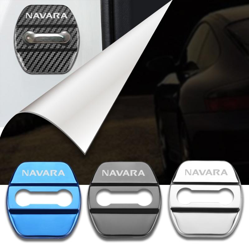 Capa adesiva para porta de carro nissan navara, d40 d22 d23 np300 acessórios de estilo para automóveis