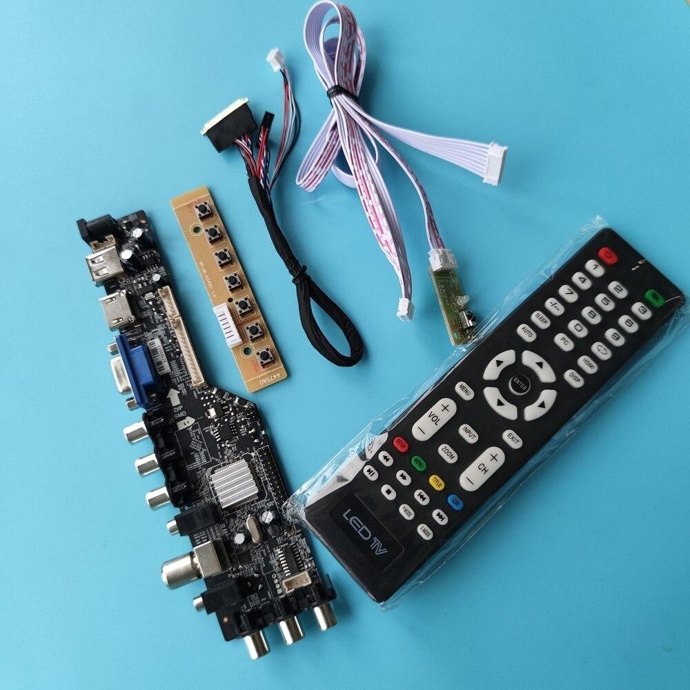 كيت ل LP116WH1 TL HDMI المتوافق لوحة مراقب المراقب الرقمية VGA AV التلفزيون 1366x768 DVB-T DVB-T2 عن مجلس سائق LED USB