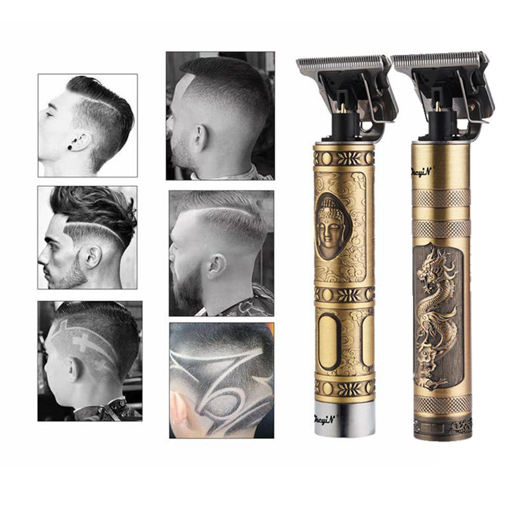 Professional Hair Clipper Men T-Outliner Beard Trimmer Titanium Ceramic Blade Electric Baldheaded Finishing Hair Cutting Machine enlarge