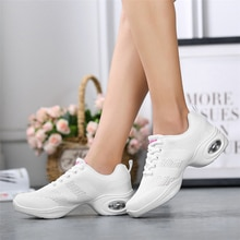 Breathable sneakers children's competitive aerobics shoes soft bottom fitness sports shoes Jazz / Mo