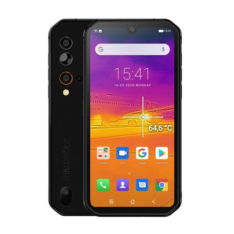 Blackview BV9900 Pro Helio P90 Octa Core 8 ГБ 128 5,84 дюйм FHD + безрамочный экран с IP68 Водонепроницаемый прочный смартфон 48MP Quad Camera мобильный телефон