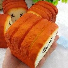 Squishy Antistress Langsam Simulieren Banana Eis Nette Brot Milch Box Jumbo Anhänger Französisch Frites Squeeze Stress Stretch Rising