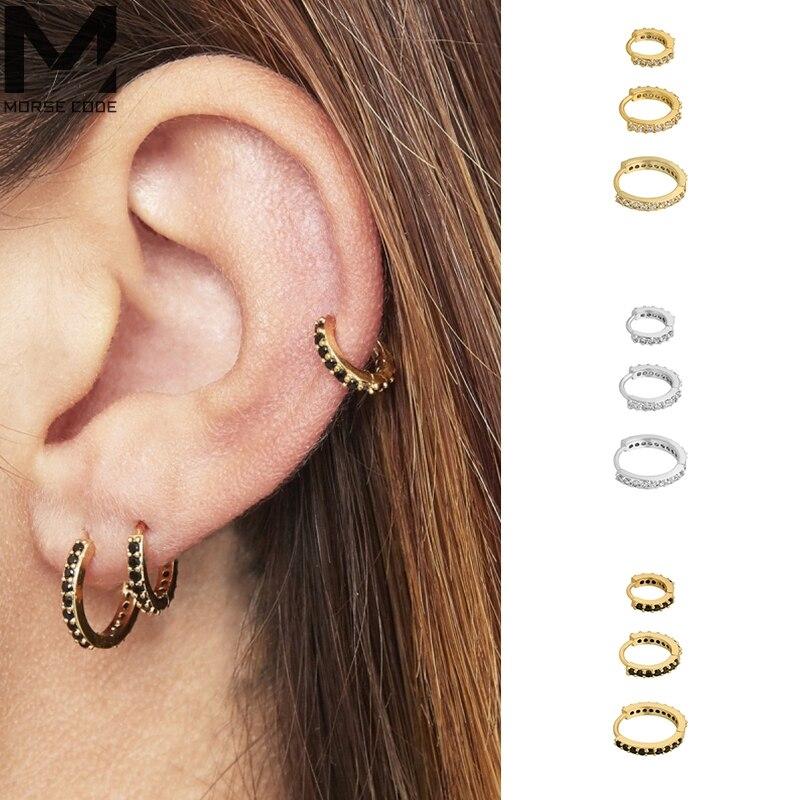 mc-черного-цвета-с-украшением-в-виде-кристаллов-Подвески-кольцо-серьги-круг-реальные-s925-серебряные-золотые-серьги-huggies-обруч-серьги-модное-ю