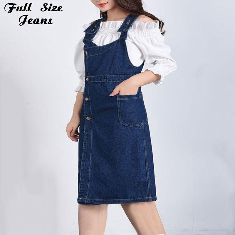 Женское джинсовое платье, темно-синее асимметричное повседневное джинсовое платье, комбинезон на бретелях с карманами, 4XL, 5XL, 6XL фото