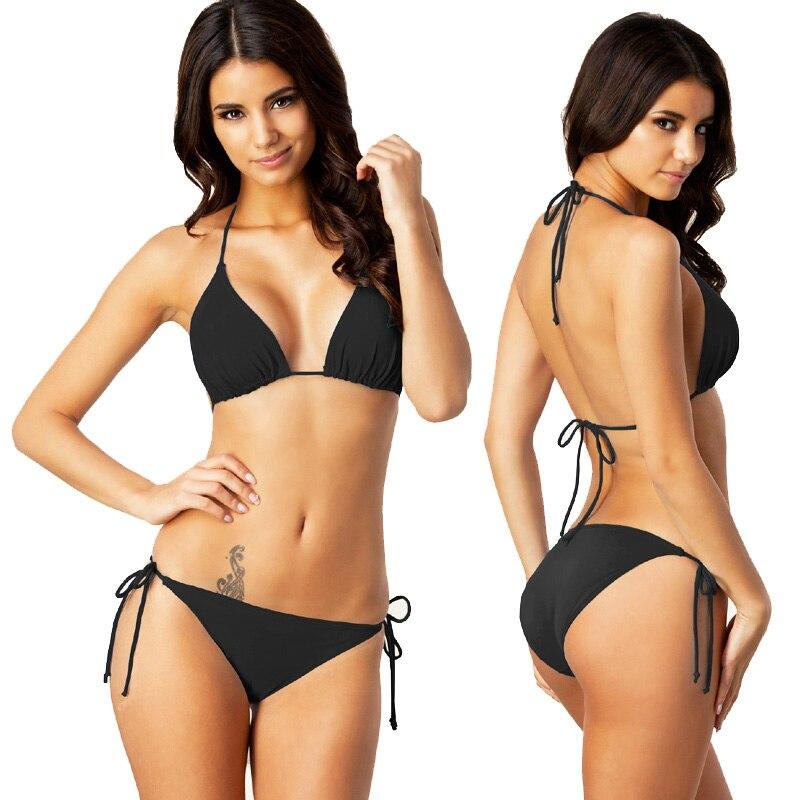 Hottest Classical Women Swimwear Sexy Bikini Women's Swimming Suit Size S to XXXL Swimsuit Bathing Suit Removable Pad Ful