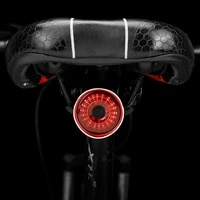 ztto mtb light mountain road bike bicycle ip6 waterproof and dustproof tail light intelligent sensing cycling front rear light