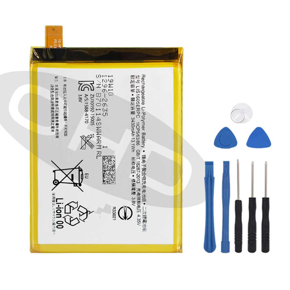 Batería De Repuesto Original Ohd Lis1605erpc Para Sony Xperia Z5 Premium Z5p Dual E6853 E6883 Batería De Teléfono Genuina 3430mah Baterías Para Teléfonos Móviles Aliexpress