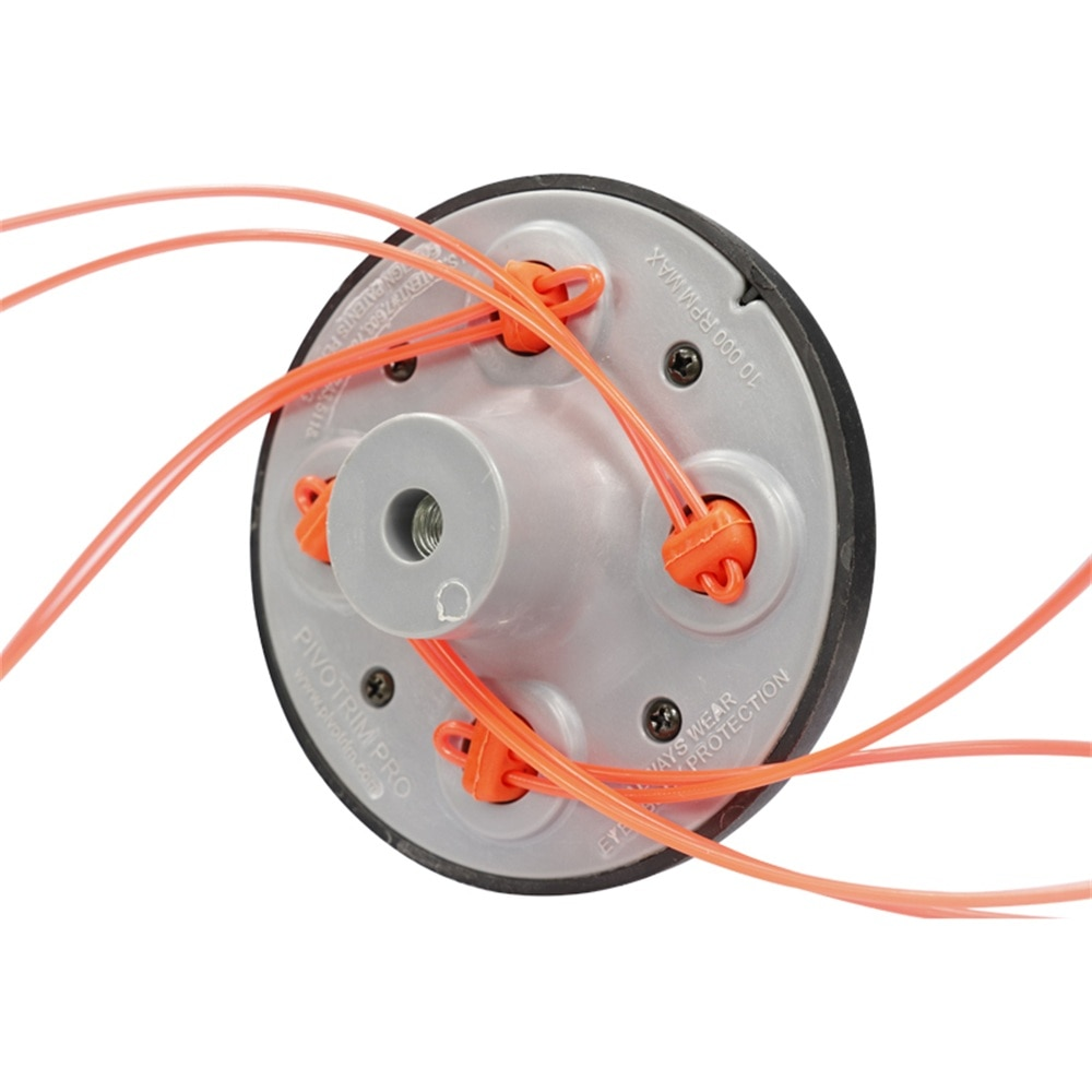 Universal 4 Lines Speed Feed String Trimmer Head Grass Trimmer Head For Gasoline Lawn Mower Brush Cutter Head