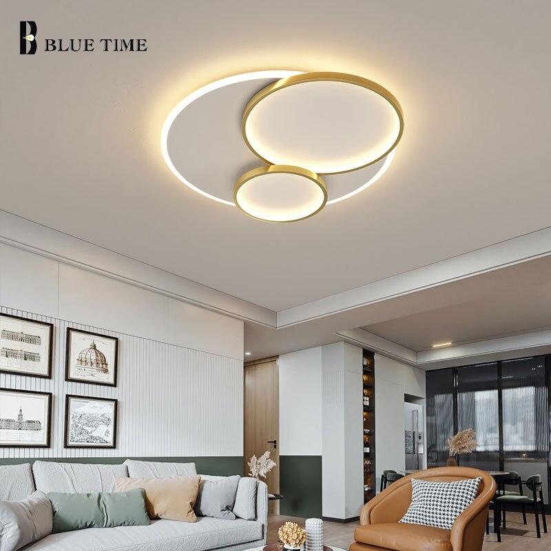 مصباح السقف الحديثة 110 فولت 220 فولت Led ضوء السقف لغرفة المعيشة غرفة نوم غرفة الطعام غرفة نوم المطبخ إضاءة داخلية بريق Led