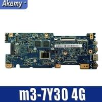 Akemy UX330CAK האם מחשב נייד W/M3-7Y30 4G RAM עבור For Asus UX330CAK UX330CA UX330C Mainboard