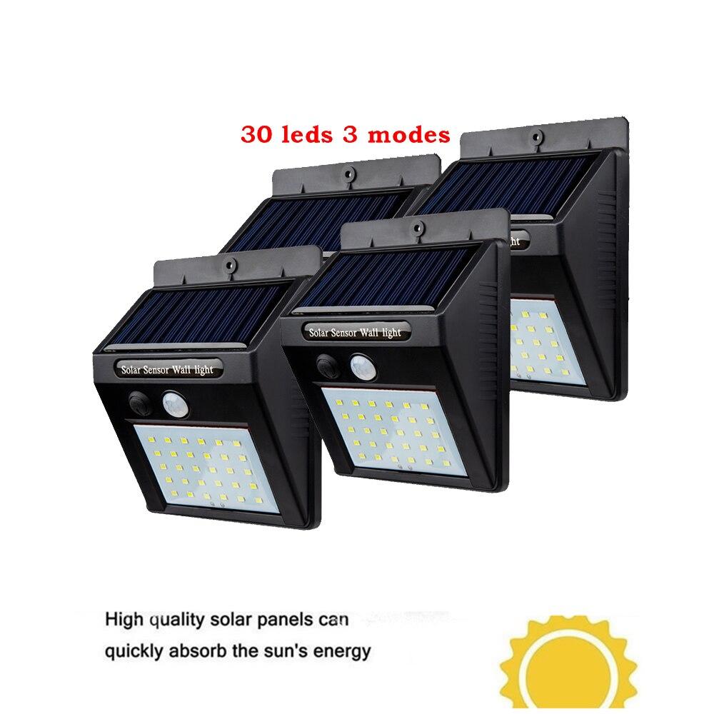 2/4 Uds 30 LED luz Solar enterrado en el suelo del jardín de luz bajo tierra al aire libre de la lámpara de césped camino forma terraza jardín lámparas
