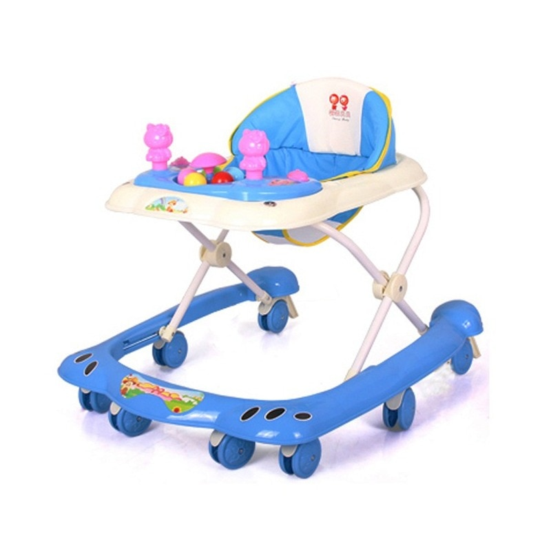 wholesale baby walker with 8 wheels anti runover multi function skating car with music toys learning walkers walking assistant Baby Walker Baby Walker with Toy  Multi-function Baby Stroller Stroller 6-12 Months Walkers for Babys  Baby Walker with Wheels