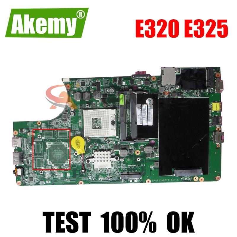 04W1764 لينوفو E320 E325 اللوحة الأم لأجهزة الكمبيوتر المحمول DA0PS3MB8E0 REV:E HM65 E320 اللوحة الأم 100% اختبار سليمة