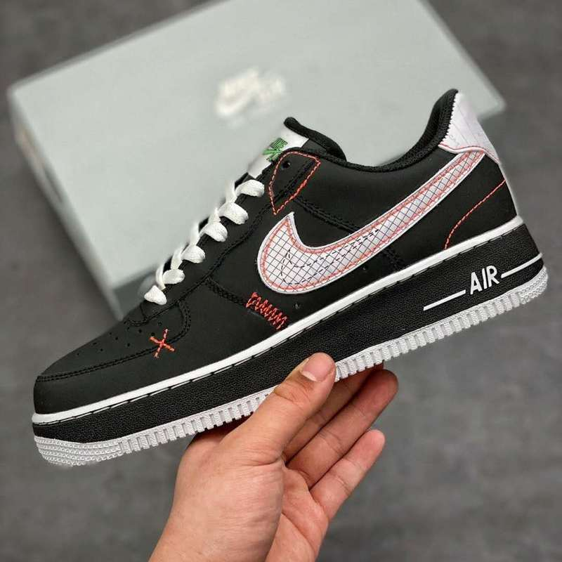 Nike Air Force 1 Women's Skateboarding Shoes Lightweight Comfortable Non-slippery Outdoor Sports Sneakers