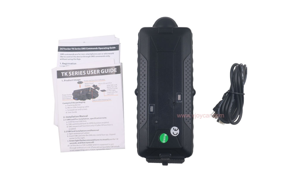 VJOYCar 2019 wholesale CE approval new 20000mAh wcdma gsm sms gps gprs wifi portable 3g gps tracking device enlarge
