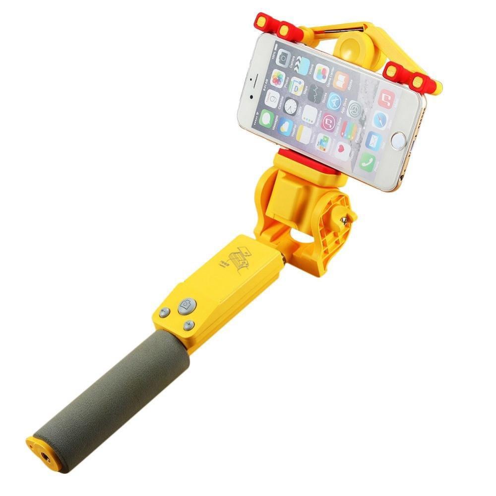 BEESCLOVER ip66 360 grados rotación Selfie Stick inalámbrico Bluetooth 4,0 Control remoto inalámbrico soporte IOS 4,0 Android 2,3 +