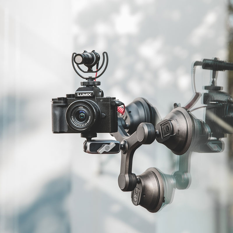 PGYTECH-حامل شفط بثلاثة أذرع لـ Gopro ، 5 6 7 8 9 ، Insta360 ، One X2 ، Pocket 2 ، Osmo ، كاميرا الحركة ، كوب السيارة ، أدوات التصوير