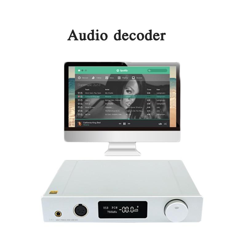 HIFI-وحدة فك ترميز رقمية DX7s ، محول صوت الكل في واحد ، USB محوري ، مكبر صوت عالي الدقة