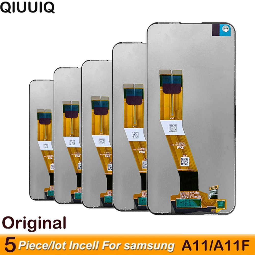 5 Pcs 6.4'' Original A115 Lcd for Samsung Galaxy A11 LCD Display Touch Screen Assembly for Samsung A115F A115F/DS Lcd