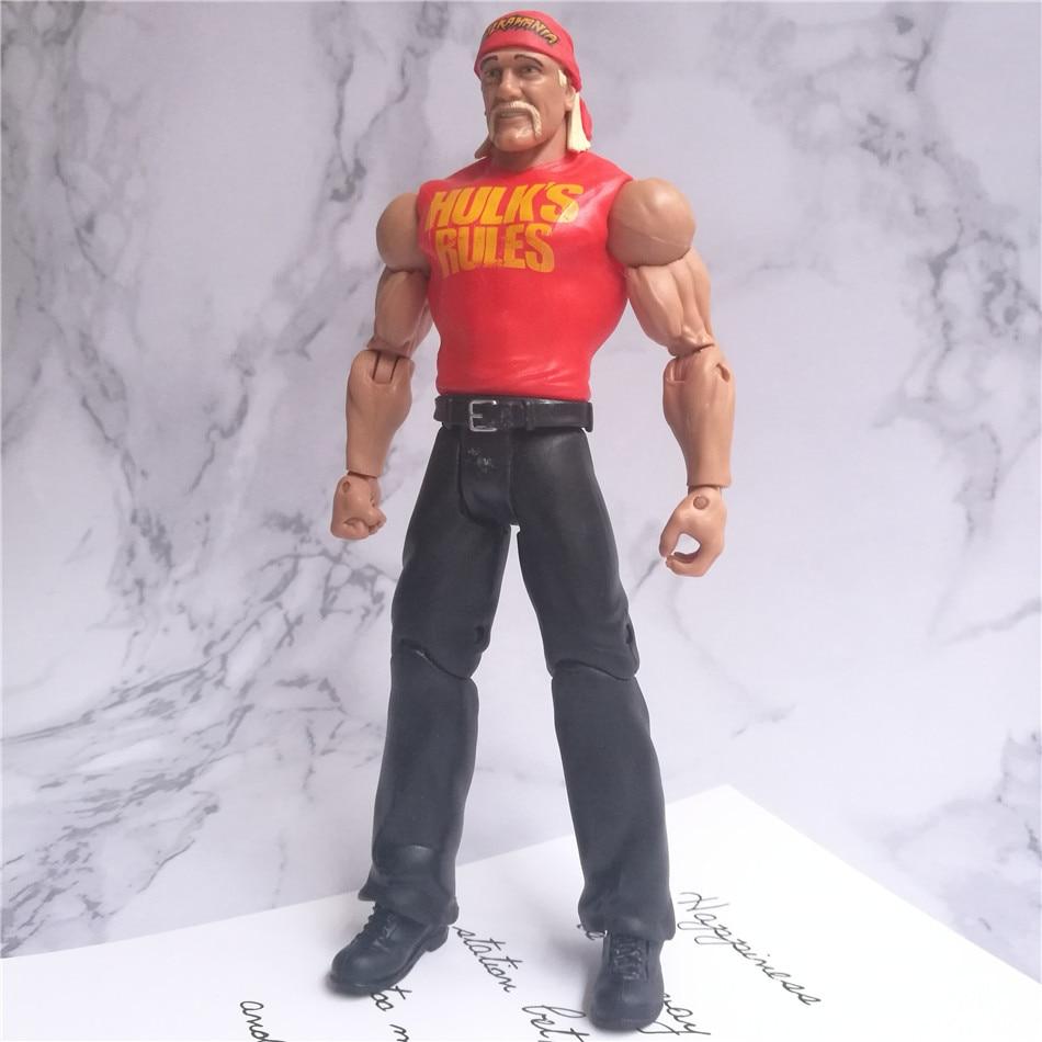 WWEE American wrestle mania models action figures original factory toys odorless  Hulk Hogan Big E Roman reigns undertaker