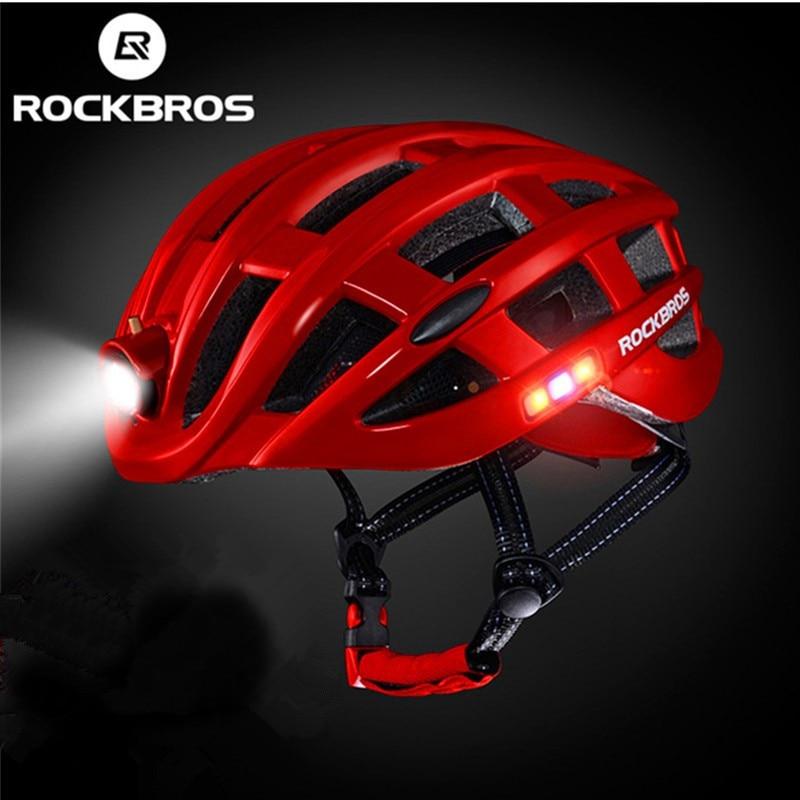 Rockbros capacete para bicicleta à prova de chuva, ultraleve, cofre integralmente moldado para ciclismo, bicicleta de montanha e estrada, mtb capacetes