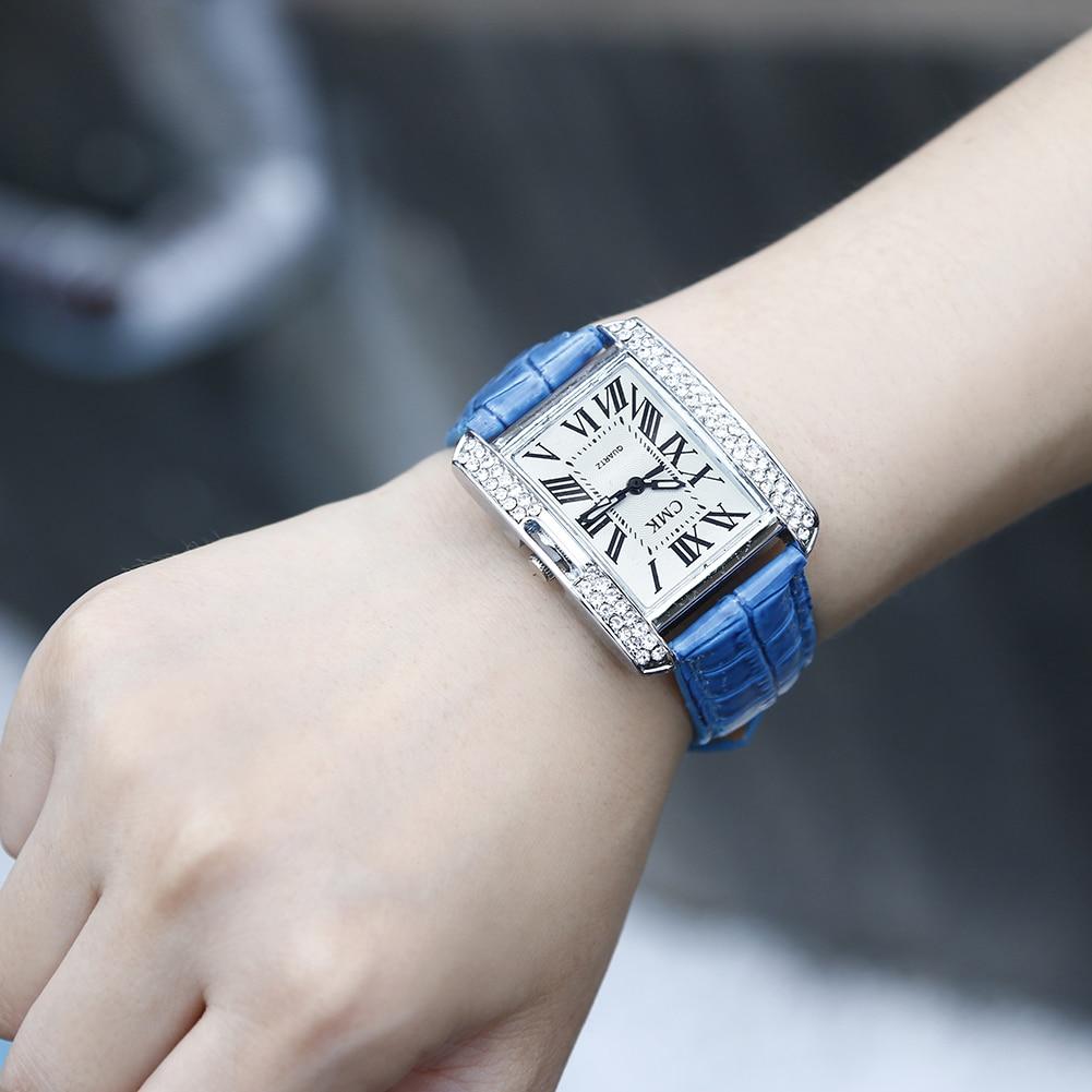 Dropshipping Hot Sale Women Watches Top Brand Luxury Diamond Leather Band Quartz Ladies Wrist Watch Women Clock Relogio Feminino