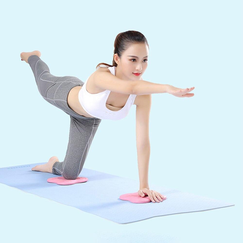 PU Yoga rodilla almohadillas cojín de rodilla, muñeca codo proteger Pad para deportes Fitness ejercicio de Yoga antideslizante protección esteras
