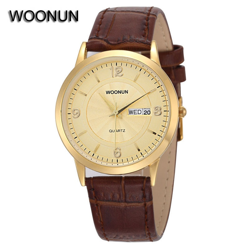 Minimalist Mens Watches Quartz Leather Date Watch Thin Male Wrist relogio masculino herenhorloge reloj para hombre
