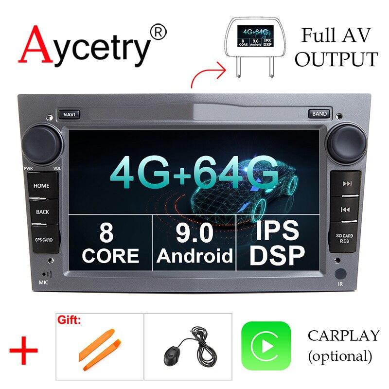 Für Opel Astra H G J Vectra Antara Zafira Corsa 2 din android 10.0 4g AUTO radio Gps MULTIMEDIA-player stereo obd2 DVR DSP keine dvd