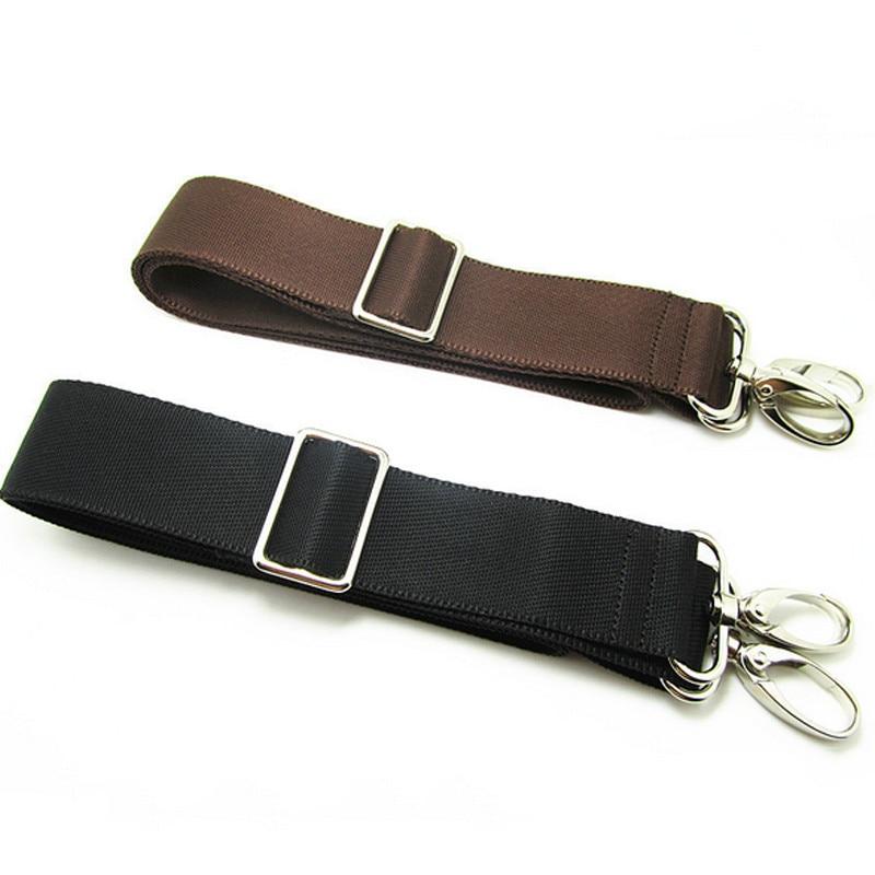 Replacement Shoulder Adjustable Strap For Luggage Messenger Camera Bag Polyester Black Brown Bag Acc