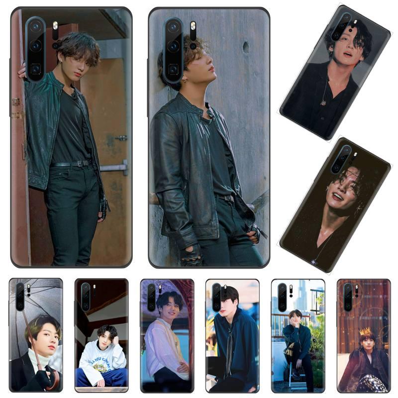 Cantante coreana niño estrella Jungkook funda del teléfono para Huawei Mate 9 10 20 Pro lite 20x nova 3e P10 más P20 Pro Honor10 lite
