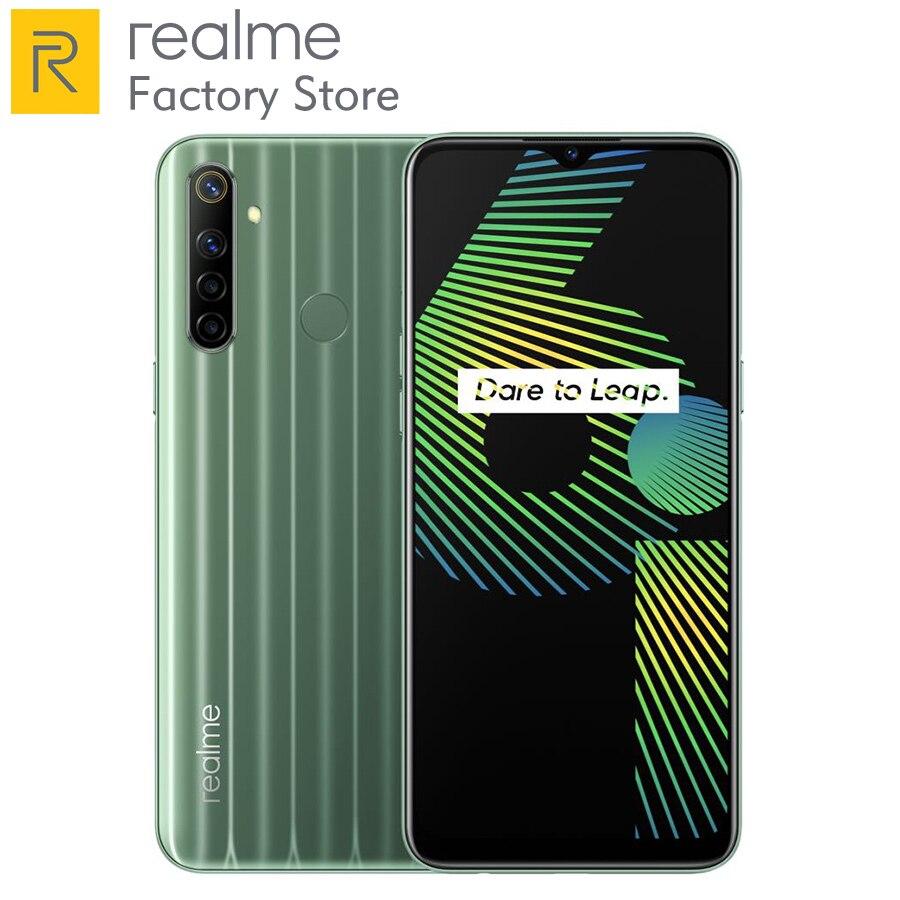 Realme 6i 6.5inch Mobile phone 4GB 128GB 48MP Mobile phone AI Quad Camera 5000mAh Battery  Helio G80 Octa Core