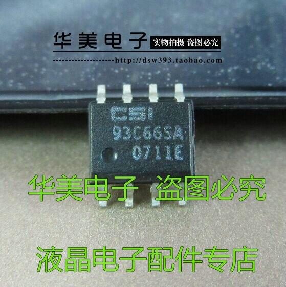 Delivery.93C66SA chip de memoria original SMD SOP-8