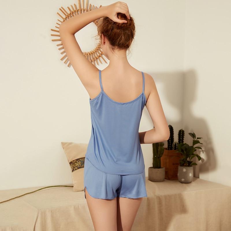 Women's Sleepwear Short Set Pajamas for Women Pajama Set Sweet Soft Comfortable Short  Sleeve T Shirts & Shorts Summer Pijama