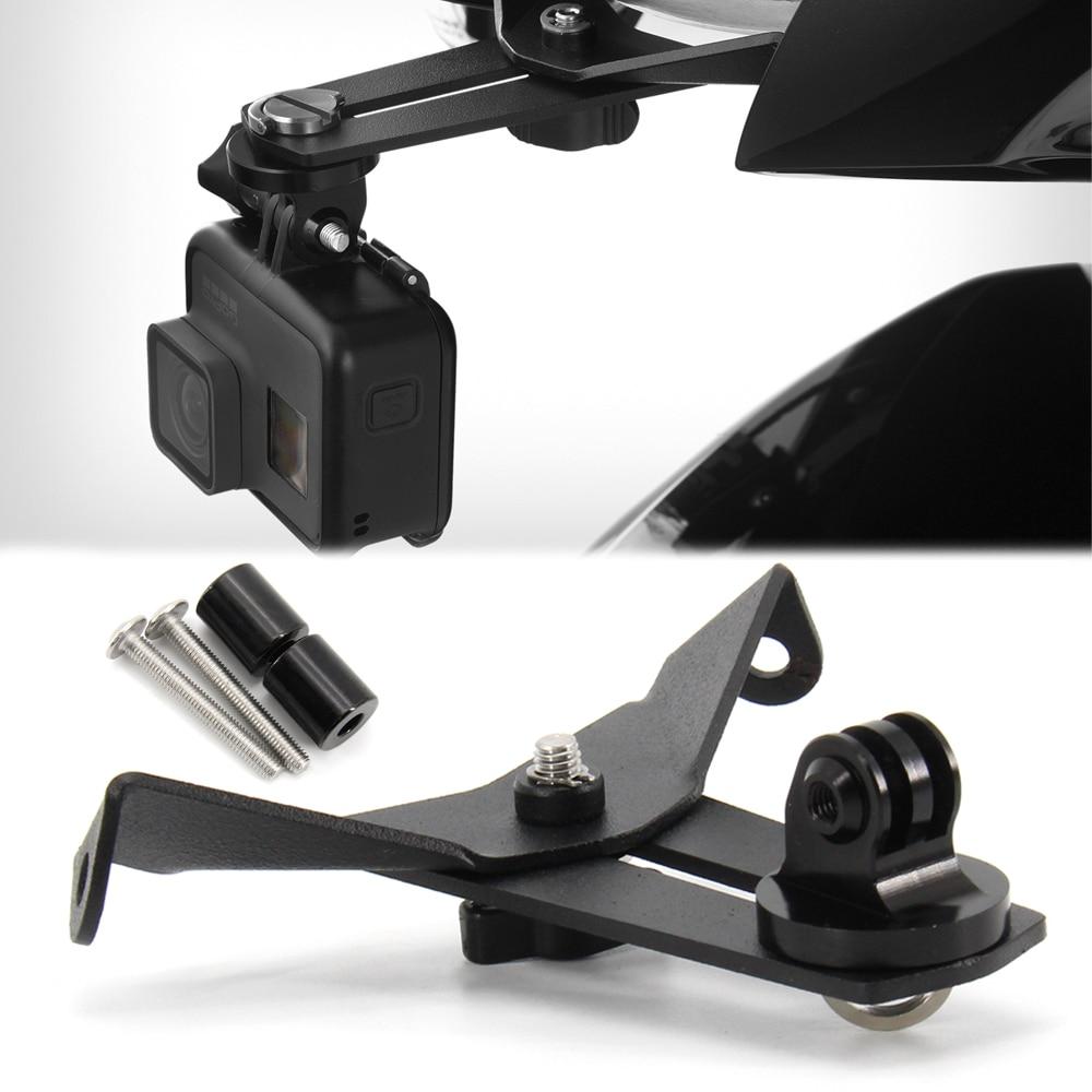 ملحق كاميرا مسجل قيادة الدراجة النارية ، حامل ألومنيوم CNC لسيارات BMW R1200RT LC R1250RT 2014-2020 R 1200 RT LC R 1250 RT