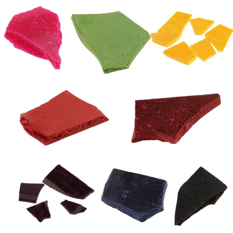 10 g/bolsa vela Chips colorantes Multi Color de cera de vela tinte para parafina o de cera de soja de bricolaje fabricación de velas suministros 8 colores