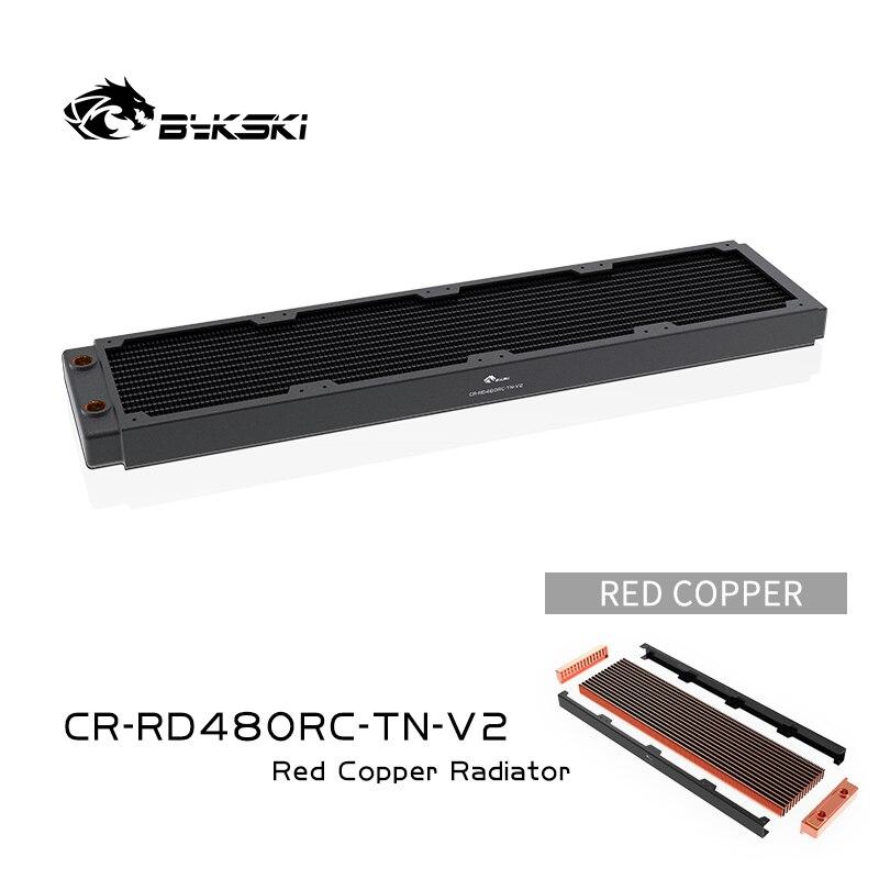 Bykski 480 مللي متر النحاس المبرد RC سلسلة عالية الأداء تبديد الحرارة 30 مللي متر سمك ل 12 سنتيمتر مروحة برودة ، CR-RD480RC-TN-V2